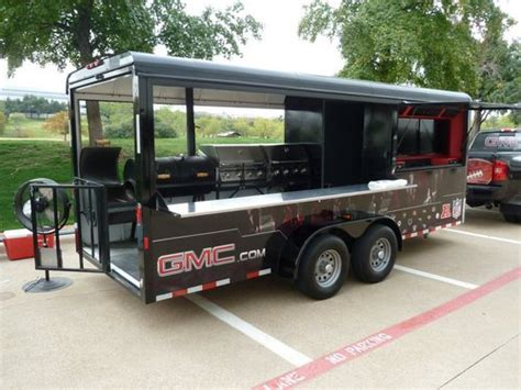 food trucks and pits gmc nfl tailgate trailer remolques