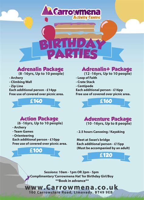 freebies   kids birthday parties atcarrowmena
