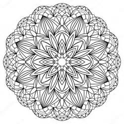 simple mandala stock vector 169 matorinni 67817411