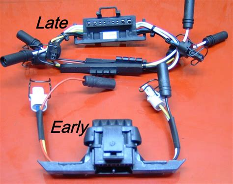 powerstroke injector wiring harness  valve cover