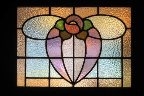 stained glass door flower pattern photo page