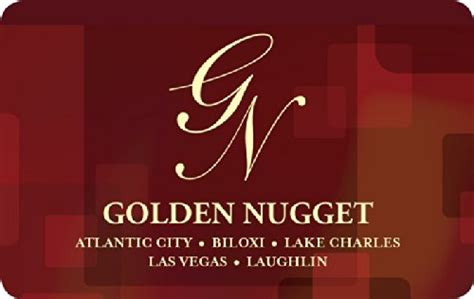 Golden Nugget Gift Card - food city gift card