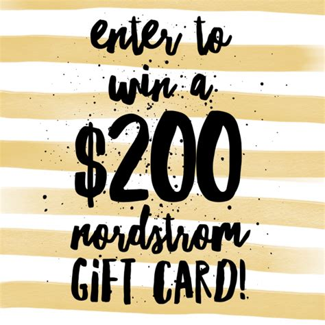 Sell Nordstrom Gift Card - 200 nordstrom gift card giveaway ends 9 9 mommies with cents