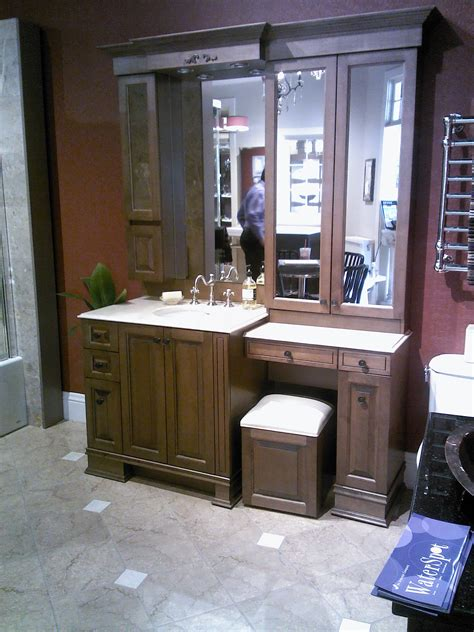 bathroom cabinet with makeup vanity bathroom cabinets vanities