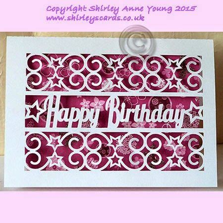 card templates for cricut freebie happy birthday with card shirley s cards
