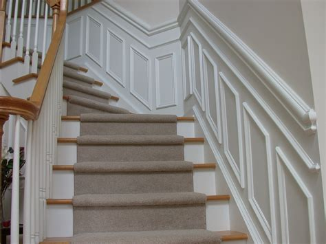 Chair Rail Up Stairs by Trim And Molding Ideas 171 Builders Remodeling