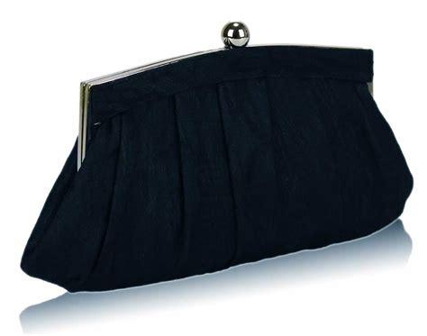 Clutch Bag wholesale navy floral satin lace clutch bag