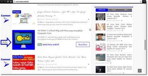 adsense untuk blogspot cara memasang new in feed ad native google adsense untuk
