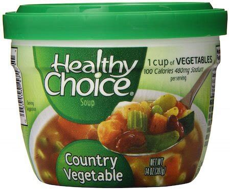 13 Canned Vegan Soups For When You Re Sick Af Healthy Choice Garden Vegetable Soup