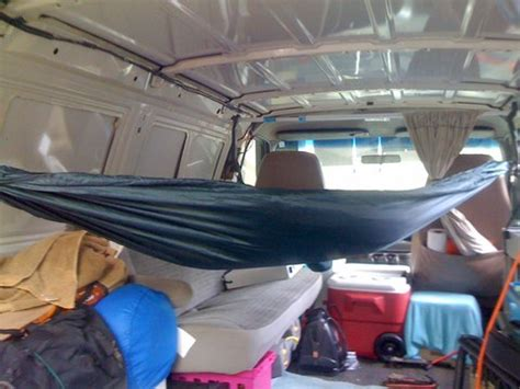 Living In A Hammock by Cheap Rv Living 4x4 Conversion Sleeping In A