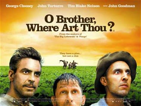 "Brian Terrill's 100 Film Favorites - #62: ""O Brother ... O Brother, Where Art Thou Movie Poster"
