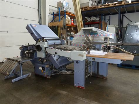 Stahl Paper Folding Machine - folders used finishing machines stahl k 66 4 ktl paper