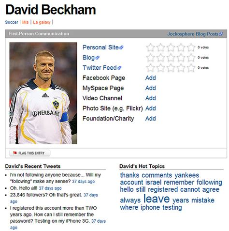 short biography for facebook best photos of athlete bio template football player