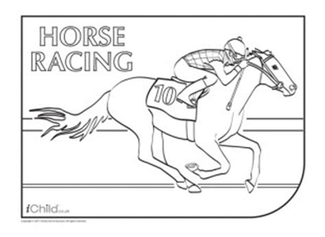 thoroughbred race horse coloring pages coloring pages