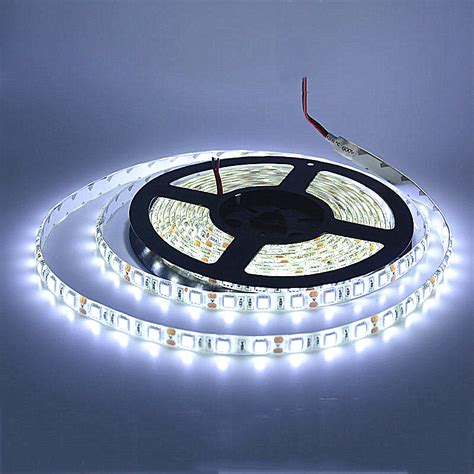 5m Led Strip 5050 Ip65 Waterproof 60led M Dc12v Flexible 5050 Led Lights