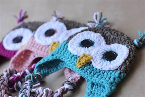 knit and crochet daily free pattern 4 ridiculously simple and adorable owl hat