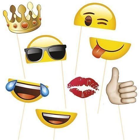 printable emoji photo booth props las 25 mejores ideas sobre emoticones de cumplea 241 os en