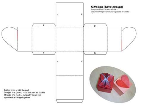 templates for gift boxes bersatu di sini gift box with love and butterfly shape design
