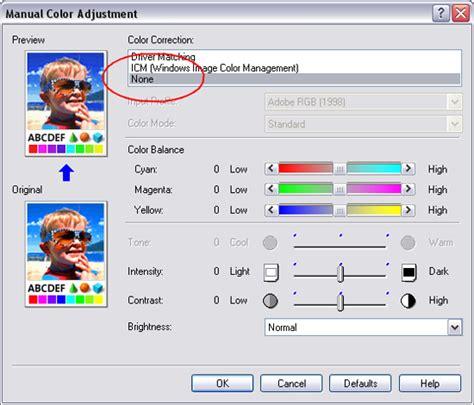 best colorspace for printing using icc profiles with canon printers albert de bruijn