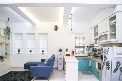 tata ruang tempat makan ruang keluarga digabung dengan dapur boleh kok