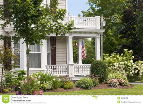 Old Florida Style House Plans new england house porch royalty free stock photos image