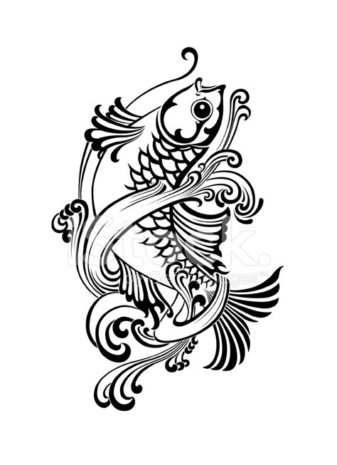 fish vector tattoo stock vector freeimages com