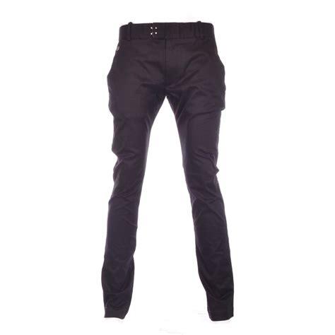 diesel black slim fit chino diesel from n22 menswear uk