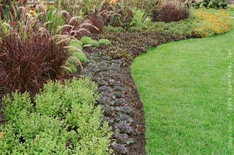 Landscape Bed Edger by Plastic Garden Edging Solution