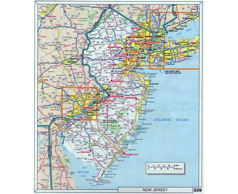 road map new jersey usa road map of new jersey usa wall hd 2018