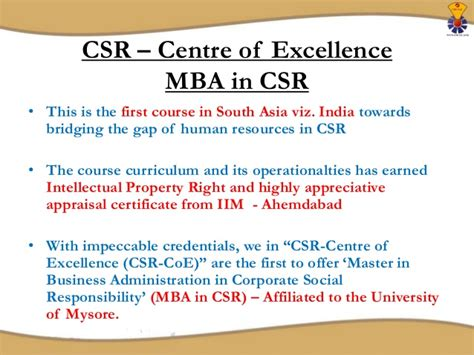 Mba In Corporate Social Responsibility by Mba In Corporate Social Responsibility