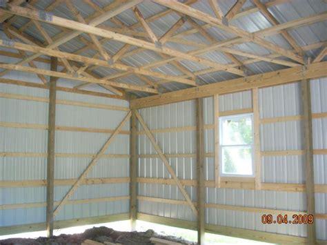 the benefits of pole barns vs stick built steel frame pole barn builders pa