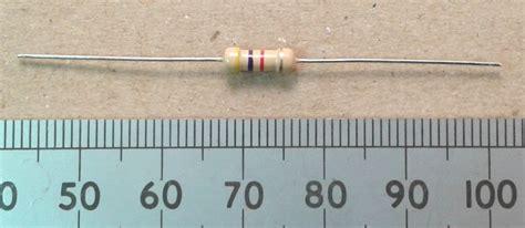 4k7 ohm resistor color 4k7 0 5w resistor