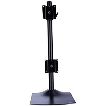 ergotron ds100 dual monitor desk stand ds100 dual monitor desk stand vertical
