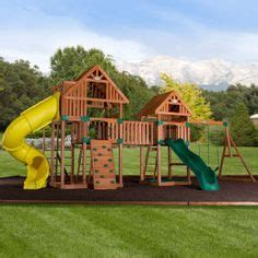 worthington cedar playset with free installation home
