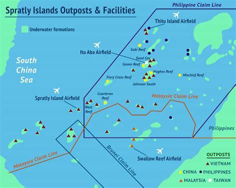 spratly islands map island tracker asia maritime transparency initiative