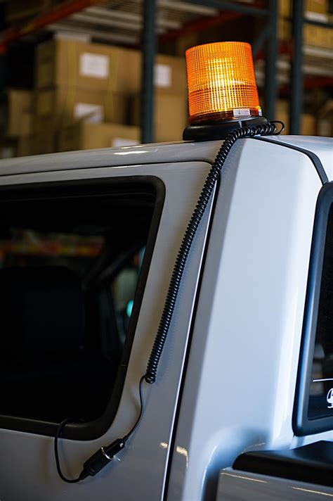 led emergency vehicle lights 6 3 4 quot amber led strobe light beacon with 40 leds