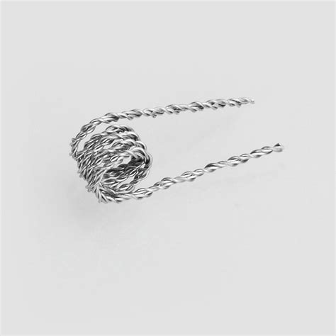 Prebuilt Kanthal A1 Hive Coil 0 5 30ga 30ga X 2 Silver 1 authentic claptonwire hive coils 0 5 ohm kanthal a1 heating wire