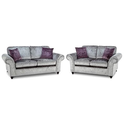 sofa loveseat recliner combo crushed velvet furniture sofas beds chairs cushions