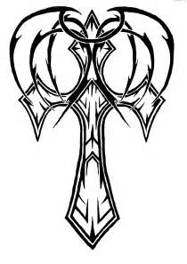 cross tattoos with wings free download tattoo 349 picture
