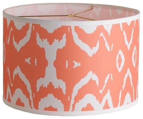 coral colored l shades coral accents living room coral colored l shade coral