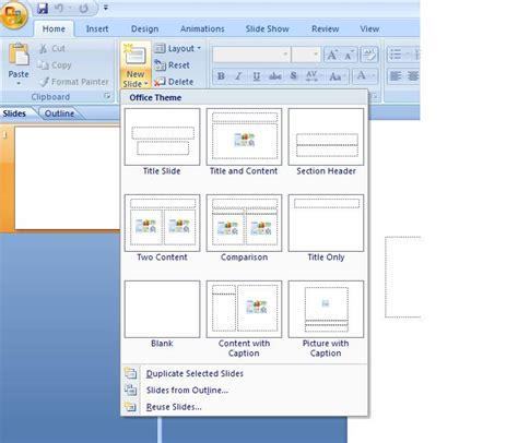 jenis layout yang terdapat pada office theme september 2011 ipinvini