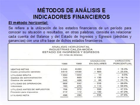 como hacer un reporte financiero de la iglesia an 225 lisis de estados financieros monografias com