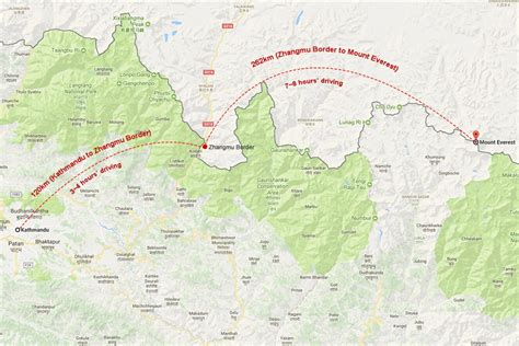mount everest map where is mount everest updated mount everest maps of
