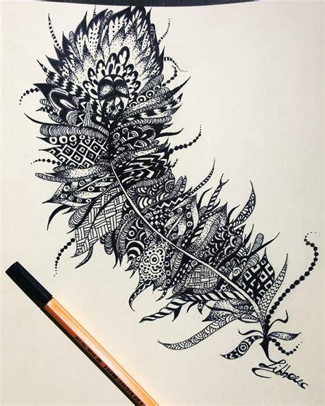 feather tattoo design by carolinajibbondonati on deviantart