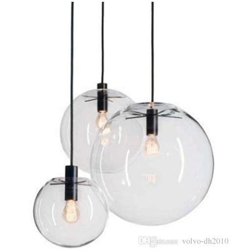 luster pendant light modern nordic lustre globe pendant lights glass l