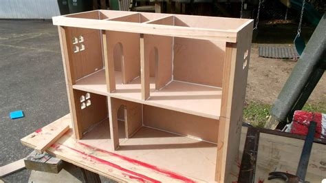 how to build a doll house making a doll s house youtube