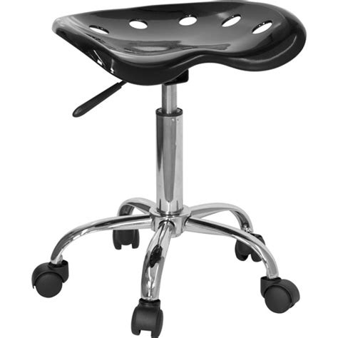 Adjustable Stool Walmart by Adjustable Height Task Stool With Tractor Seat Colors Walmart