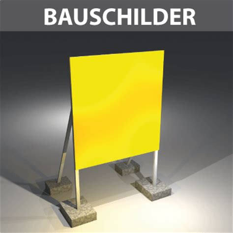 Bauschild Klein by Bauschilder Mieten Und Kaufen