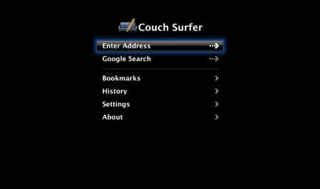 couch surf tv couch surfer 0 3 released apple tv hacks
