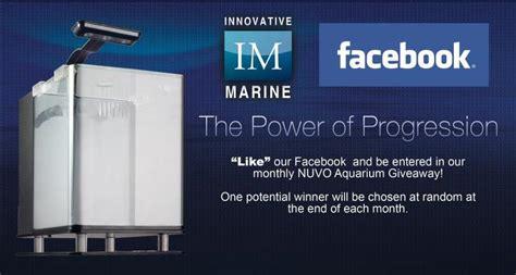 Aquarium Giveaway - innovative marine giving away nuvo aquariums aquanerd